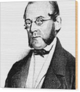Carl Von Rokitansky, Austrian Wood Print