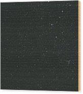 Cassiopeia Constellation Wood Print by John Sanford