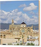 Cathedral Mosque Of Cordoba Wood Print