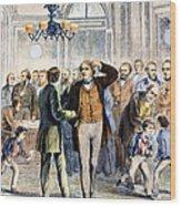 Charles Sumner (1811-1874) Wood Print