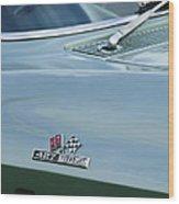 Chevrolet Corvette Emblem Wood Print