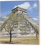 Chichen Itza Wood Print