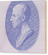Cicero, Roman Philosopher Wood Print