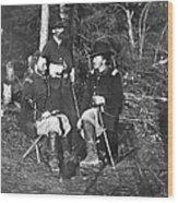 Civil War: Custer, 1862 Wood Print