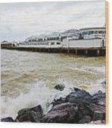 Clacton Pier Wood Print