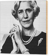 Clare Boothe Luce (1903-1987) Wood Print