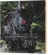 Climax Geared Locomotive Wood Print