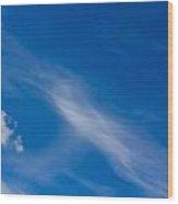 Cloud Imagery Wood Print