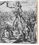 Colossus Of Rhodes Wood Print