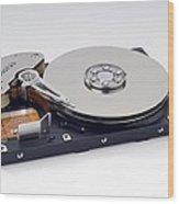 Computer Hard Disc Wood Print