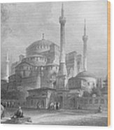 Constantinople: St. Sophia Wood Print