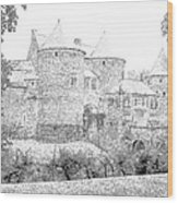 Corroy Le Chateau Gembloux Belgium Wood Print