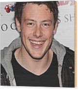 Cory Monteith At In-store Appearance Wood Print