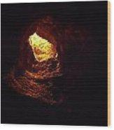 Cueva De Los Verdes Wood Print