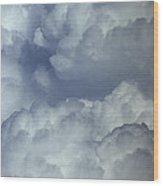 Cumulonimbus Clouds Wood Print
