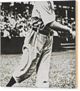 Cy Young (1867-1955) Wood Print