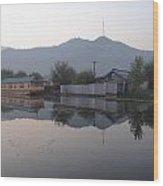 Dal Lake Srinagar Kashmir Wood Print