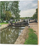 Denham Deep Lock Wood Print