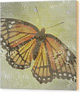Designer Butterfly Collection Wood Print