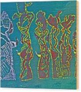 Dinka Wise Virgins Wood Print