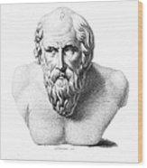 Diogenes (d. C320 B.c.) Wood Print