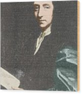 Edmond Halley, English Polymath Wood Print