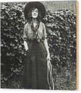 Elsie Janis (1889-1956) Wood Print