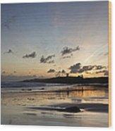 Embleton Bay Sunrise Wood Print