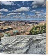 Endless Mountains Wood Print