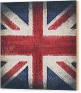 England Flag Wood Print