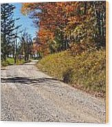 Fall Color Randolph County West Virginia Wood Print