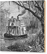 Florida: St. Johns River Wood Print by Granger