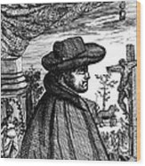 Fr�re Jacques Beaulieu, French Wood Print