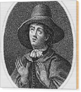 George Fox (1624-1691) Wood Print by Granger