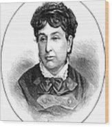George Sand (1804-1876) Wood Print