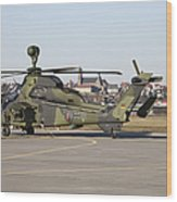 German Tiger Eurocopter At Fritzlar Wood Print