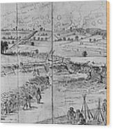 Gettysburg, 1863 Wood Print