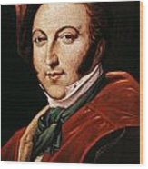 Gioacchino Rossini Wood Print by Granger