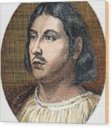 Giovanni Boccaccio Wood Print
