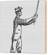 Golf, 1891 Wood Print