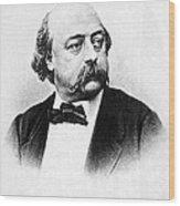 Gustave Flaubert (1821-1880) Wood Print