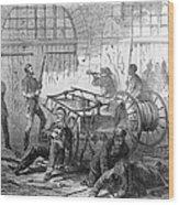 Harpers Ferry, 1859 Wood Print