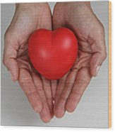 Heart Disease Prevention Wood Print