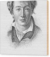 Heinrich Heine (1797-1856) Wood Print