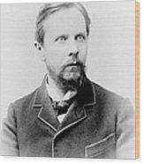 Henry James, American-born British Wood Print