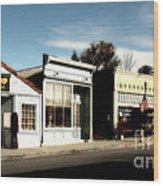 Historic Niles District In California Near Fremont . Main Street . Niles Boulevard . 7d10676 Wood Print