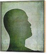 Human Representation Wood Print