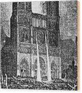 Hunchback Of Notre Dame Wood Print
