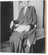 Ida M. Tarbell (1857-1944) Wood Print