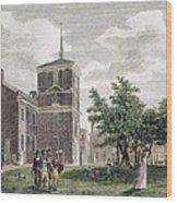 Independence Hall, 1799 Wood Print